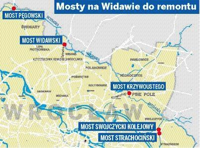 Wroclaw Wyburza Cztery Mosty Nad Widawa Beda Tymczasowe