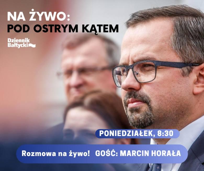 Pod Ostrym Kątem: Marcin Horała gościem w programie wideo w studio