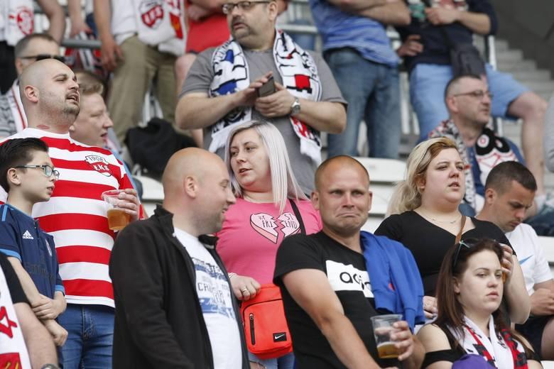 Kibice na meczu ŁKS Łódź - Stal Stalowa Wola [ZDJĘCIA]