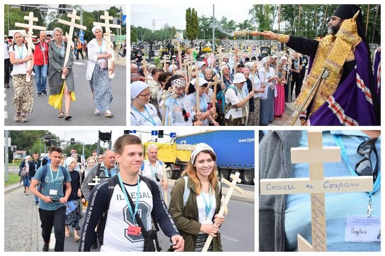 Około 200 pątników wyruszyło dziś z Białegostoku na Świętą Górę Grabarkę. Mają do przejścia około 150 kilometrów