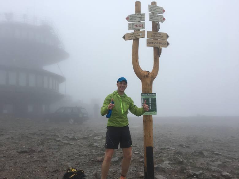 Paweł Pabian z Krasnego w trzynaście dni zdobył 80 szczytów. Pobił rekord! [ZDJĘCIA]