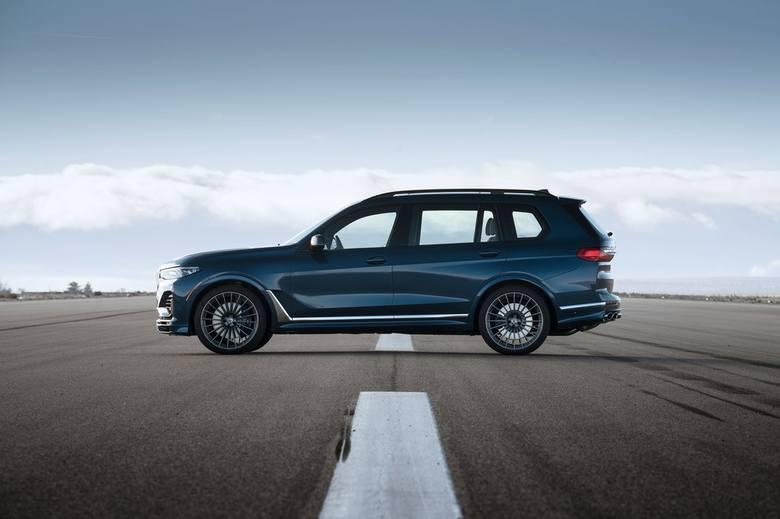 Nowe BMW ALPINA XB7. 621 KM, 4,2 sekundy do pierwszej setki [ZDJĘCIA]