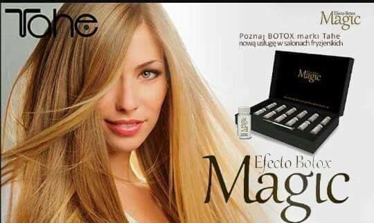 Gęstsza fryzura Zdrowsze włosy Zabieg Botox Magic