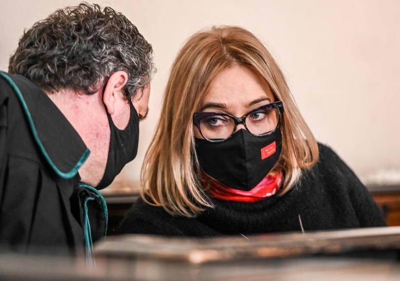 Sprawa przeciwko Magdalenie Adamowicz 22.02.2021