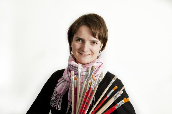 Iliana Firlik, instruktorka decoupage