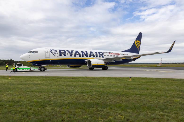 Ryanair ograniczył loty z PLB.