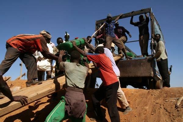 Barka po Nilu - podróz przez Sudan... reszta tez nie próznuje.