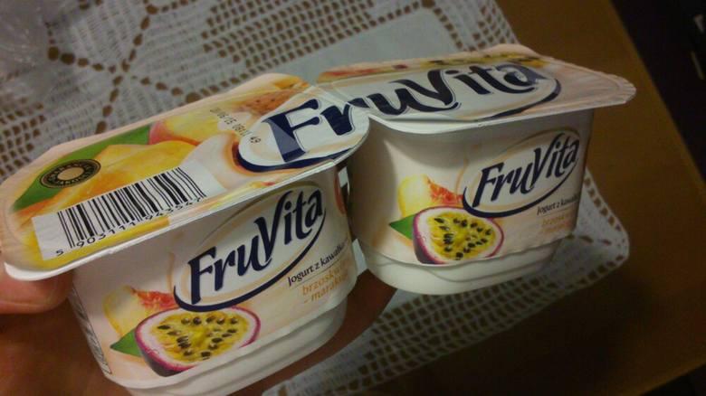 Jogurty Fru Vita z Biedronki mogą zawierać ciało obce