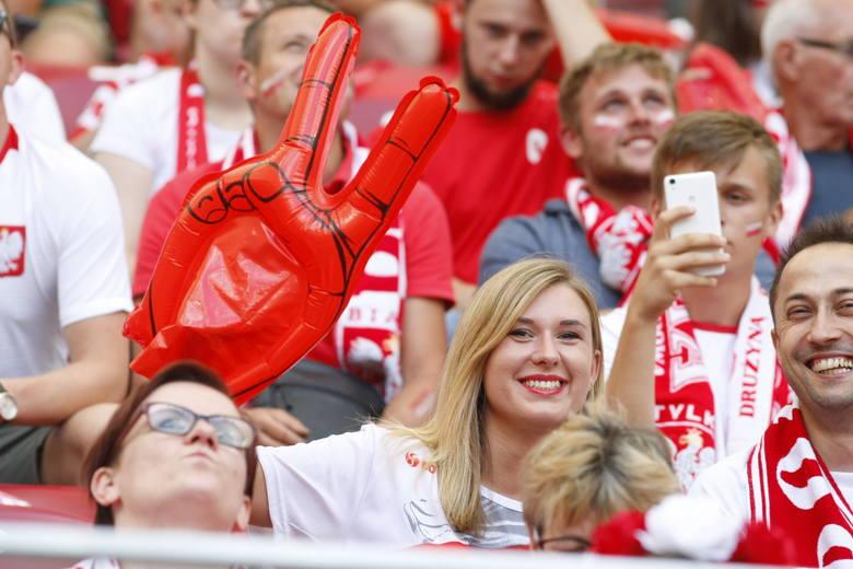 Kibice dobrze bawili się podczas meczu Polska - Litwa