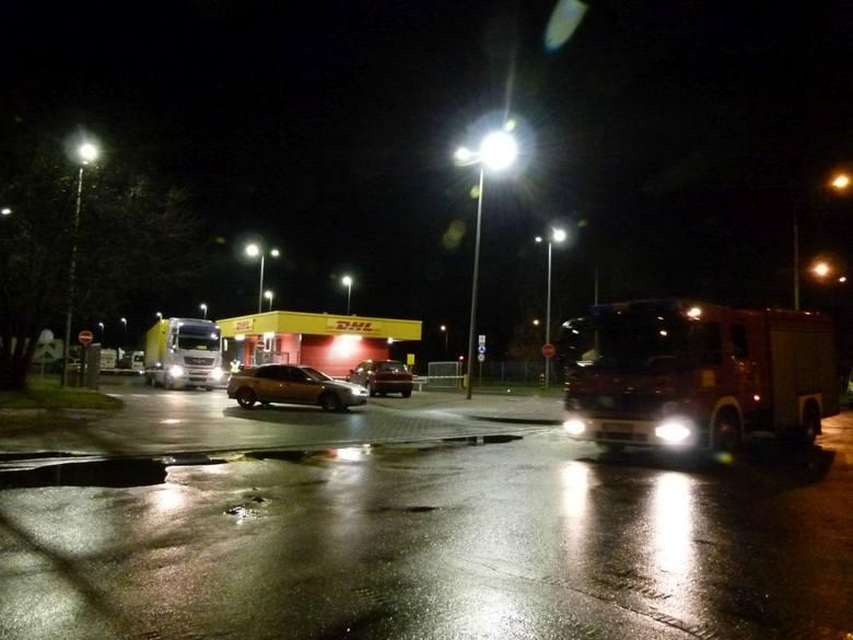 W firmie kurierskiej DHL w Łodzi wybuchła przesyłka! Ucierpiały m.in. policyjne paczki
