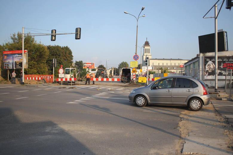 Utrudnienia na Dębcu. Budują tunel na Czechosłowackiej