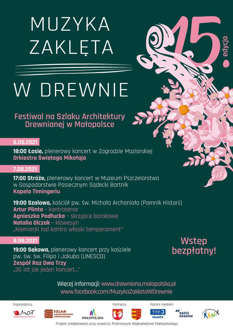 Kunsztowne duety na szlaku Muzyki Zaklętej w Drewnie. 6 sierpnia rozpoczyna się niezwykły festiwal w Łosiu, Stróżach, Szalowej i Sękowej
