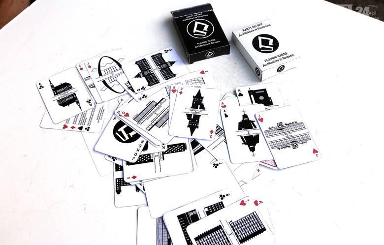 Karty z architekturą po szczecińsku. Filharmonia to nasz joker