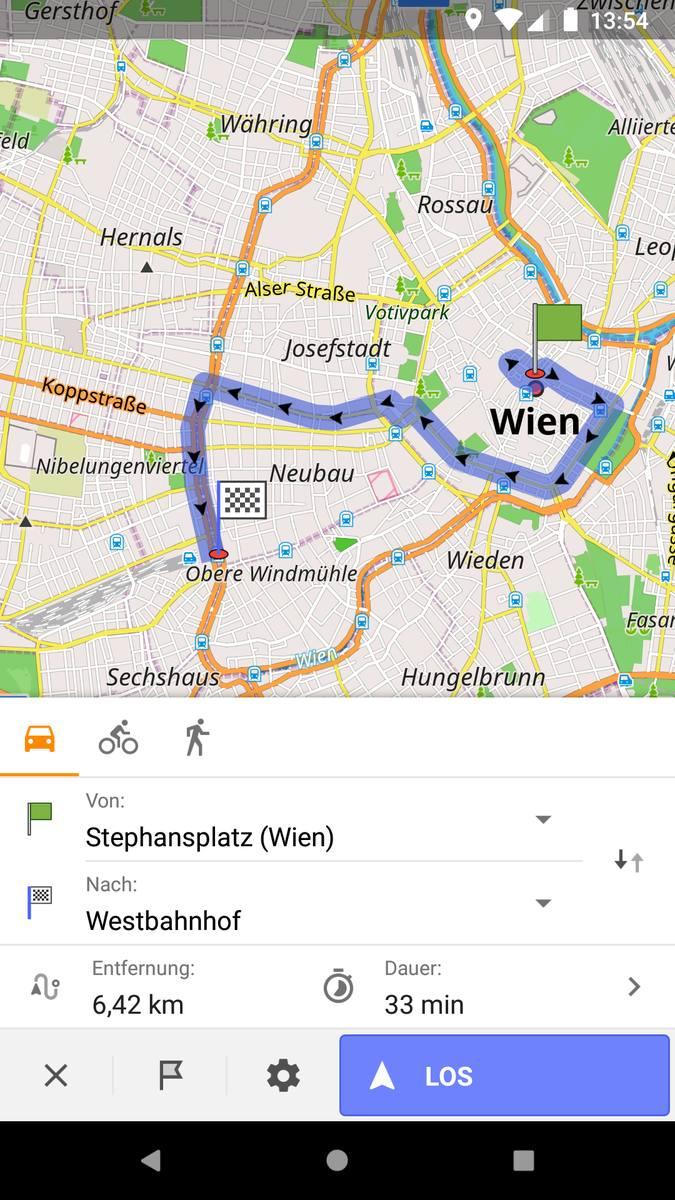 Mapy przydatne do wędrówki lub rowerowej wycieczki. Darmowa wersja posiada siedem map open source. Zawarte są na nich szlaki rowerowe i turystyczne w