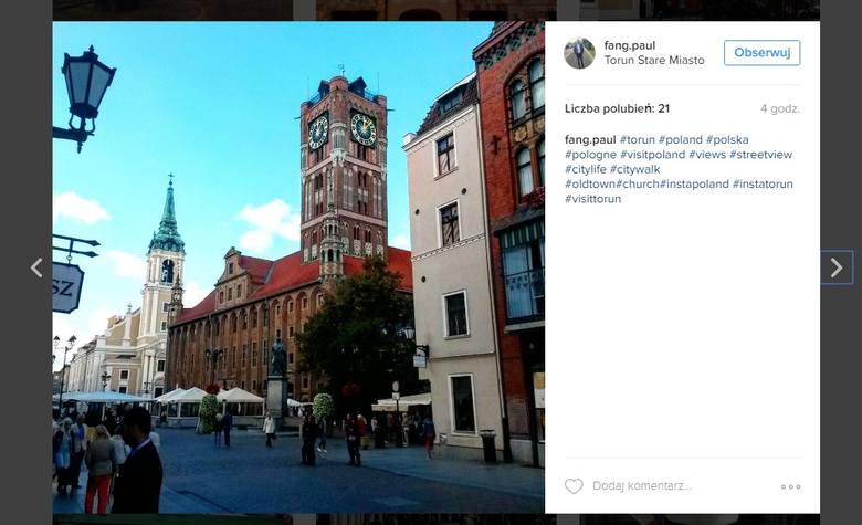 Użytkownicy Instagrama uwiecznili toruński schyłek lata. Wybraliśmy dla Was zdjęcia, które zachwyciły nas najbardziej.Zobacz również: Bella Skyway w
