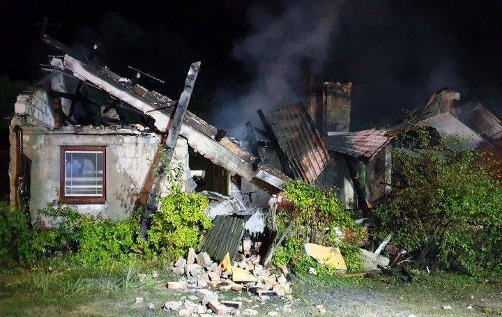 W domu w Zaklikowie wybuchł gaz! Dwie osoby doznały poważnych obrażeń ciała