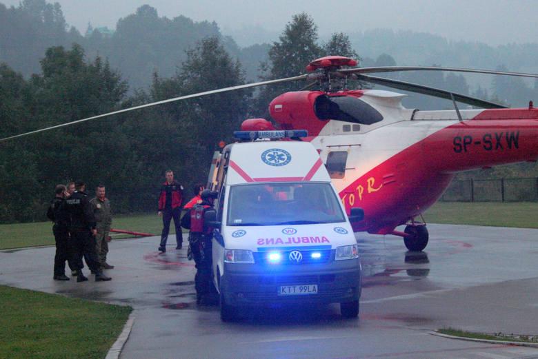 Burza w Tatrach. Ofiary śmiertelne i wielu poszkodowanych. Premier Morawiecki udał się do Zakopanego