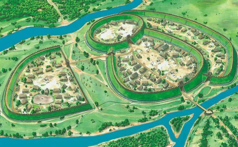 A tak gród wyobraża sobie rysownik i pasjonat fortyfikacji Robert Jurga