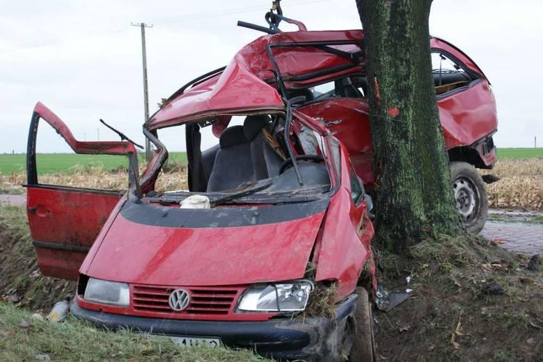 Dwie osoby zginęły w wypadku w Kościelnej Wsi.