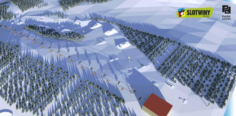 Pierwsi narciarze już szusują po stoku. Ośrodek Słotwiny Arena otworzył sezon zimowy