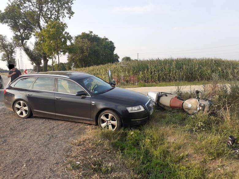 Do tego wypadku doszło 28.07.2019 na trasie Przasnysz-Mchowo