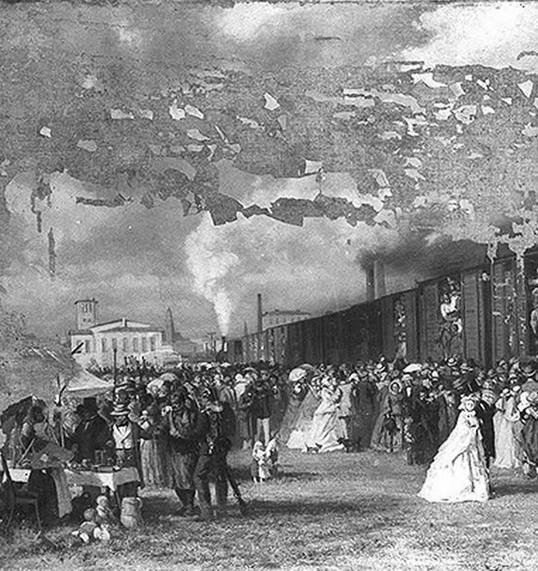 Lata 1895-1903. Dworzec Świebodzki we Wrocławiu na przełomie XIX i XX wieku.