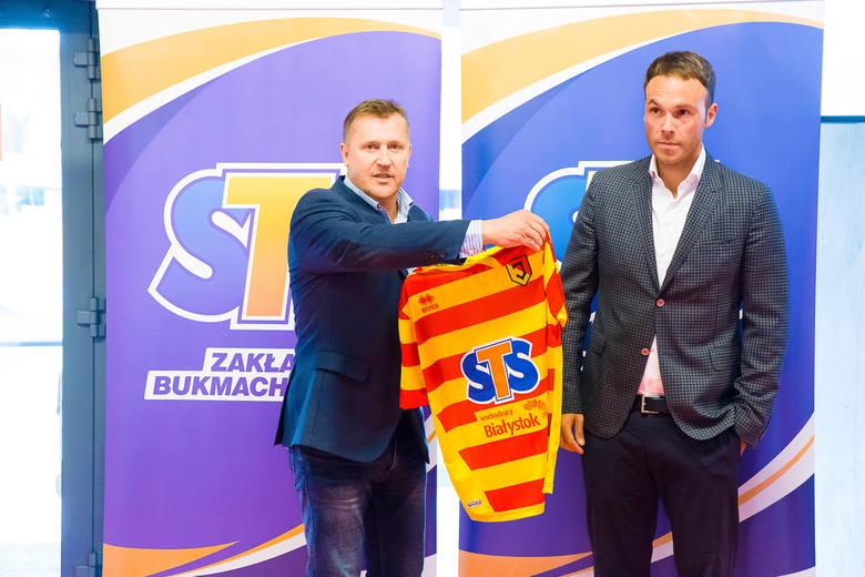 Jagiellonia ma nowego sponsora i piłkarza (zdjęcia, wideo)