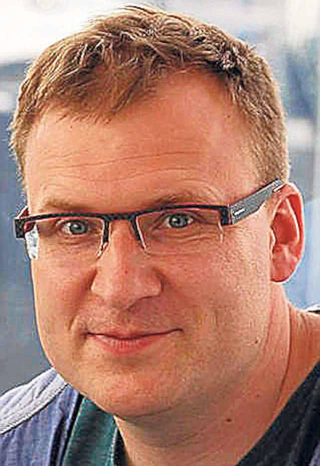 Andrzej Guła jest liderem Polskiego Alarmu Smogowego w Krakowie