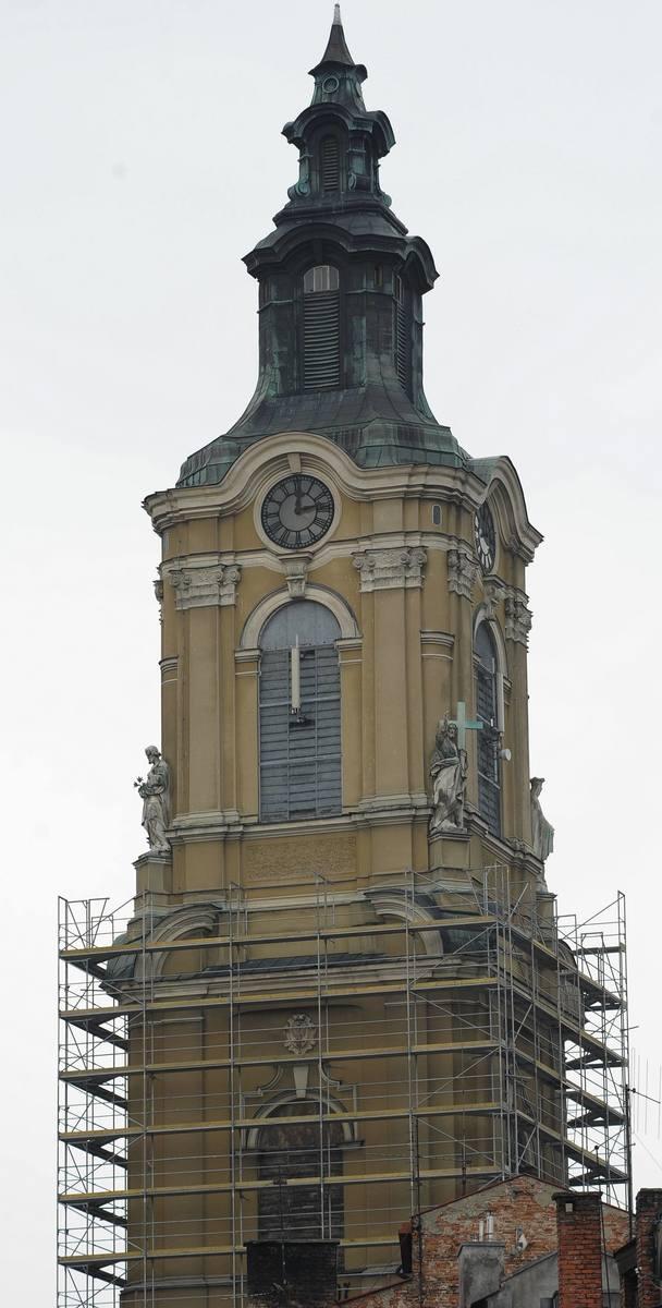 Na czas remontu wieża katedralna zostanie otoczona rusztowaniem.