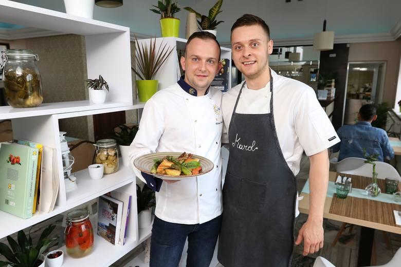 Mariusz Putek i Karol Filipczak zapraszają na smaczne i zdrowe dania z Green Kitchen w Micigoździe