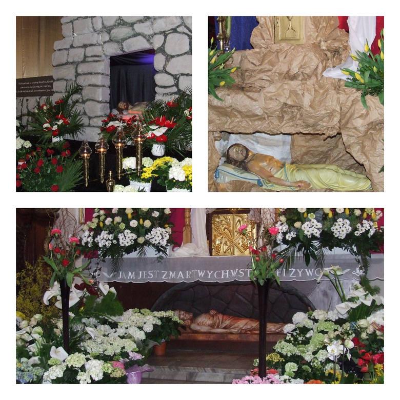 Jedną z tradycji Świąt Wielkiej Nocy jest odwiedzanie Grobu Pańskiego. Zobaczcie na kolejnych zdjęciach, jakie groby przygotowano w bydgoskich parafiach.
