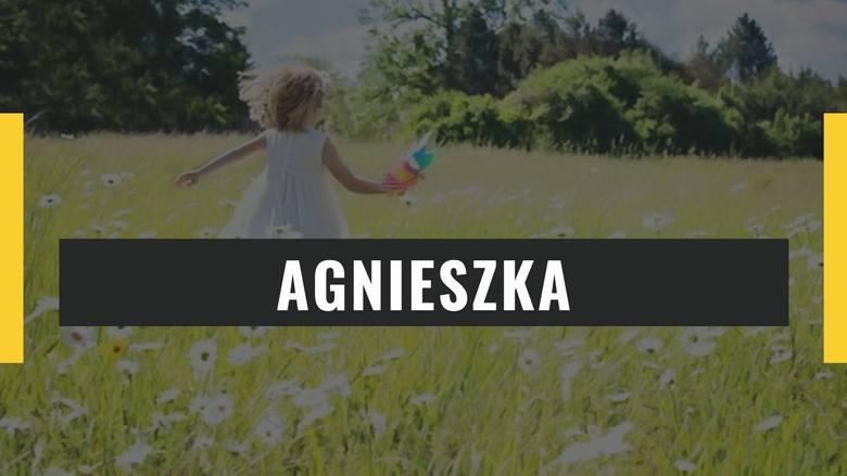 Imiona żeńskie, które znajdziecie w kolejnych slajdach, zdaniem Mieczysława Rościszewskiego mogły narazić naszą pociechę na... śmieszność. Trudno w to