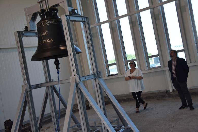 """Dzwon """"Pamięć i przestroga""""  ze Śląska, z Rydułtów, przypomni o ofiarach wojny"""