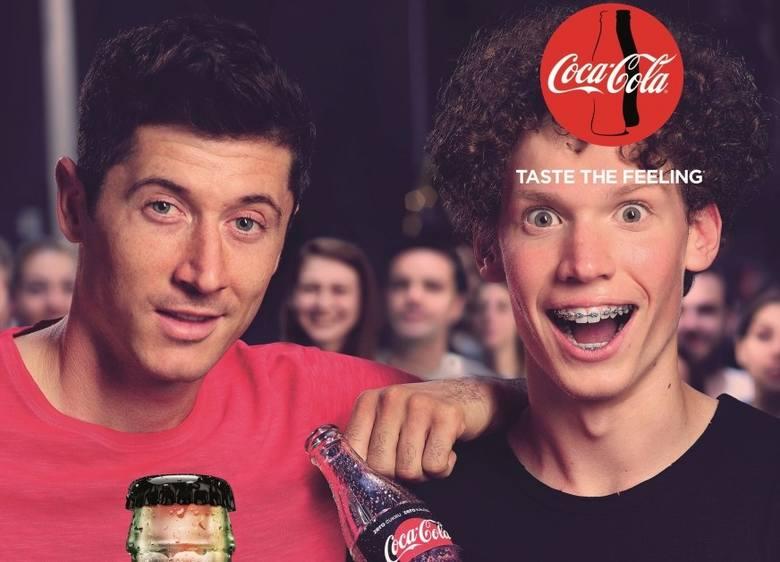 Robert Lewandowski współpracował z Coca-Colą w latach 2010-2017