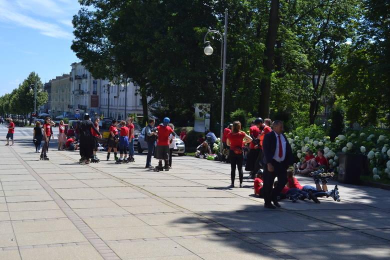 Rolkarze z Wrocławia dotarli na Jasną Górę