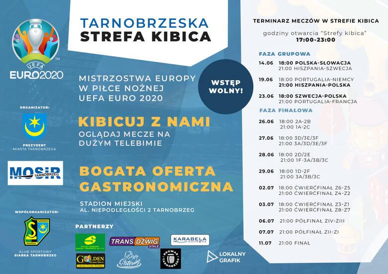 Strefa Kibica na stadionie w Tarnobrzegu od 14 czerwca. Duży ekran i blisko tysiąc miejsc