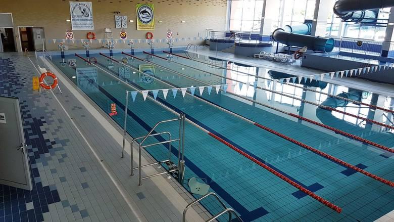 Ostrów Mazowiecka. Zakończono prace na krytej pływalni. Od dziś 31.08. 2019 można już korzystać z basenu