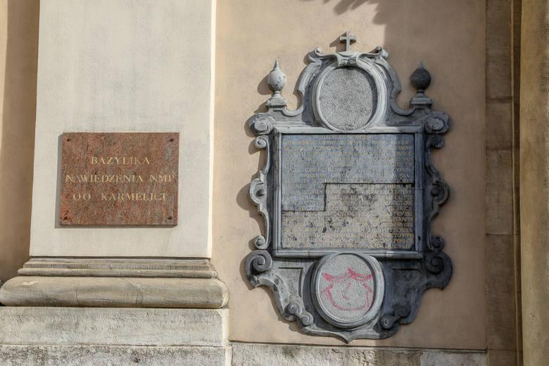 Kraków. Czy kościół na ul. Karmelickiej padł ofiarą pseudograficiarzy?