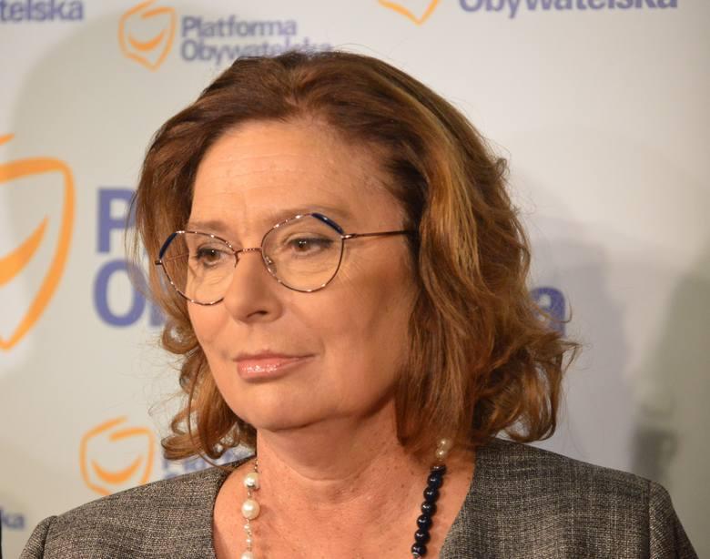 Małgorzata Kidawa-Błońska w Białymstoku. Zobacz, kto przyszedł na spotkanie z kandydatką na kandydata na prezydenta RP