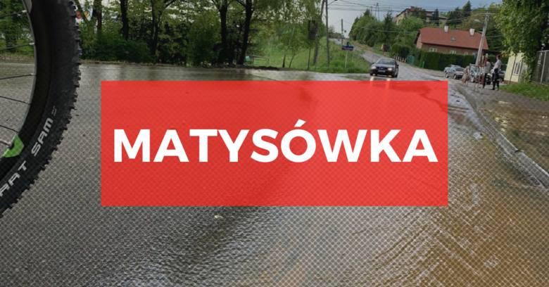 Burza szalała nad Rzeszowem. Podtopione domy na os. Słocina i Wilkowyja