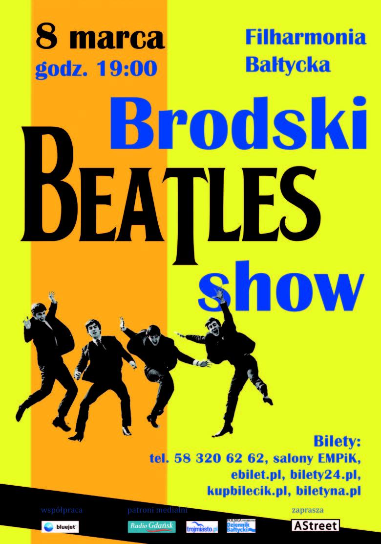 The Beatles Polska: Brodski Beatles Show zagrają 8 marca w Gdańsku