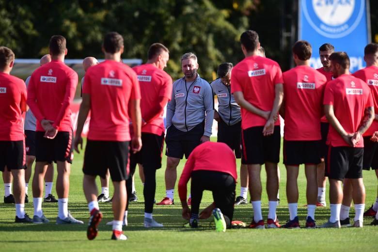 Trening reprezentacji Polski przed meczem z Włochami