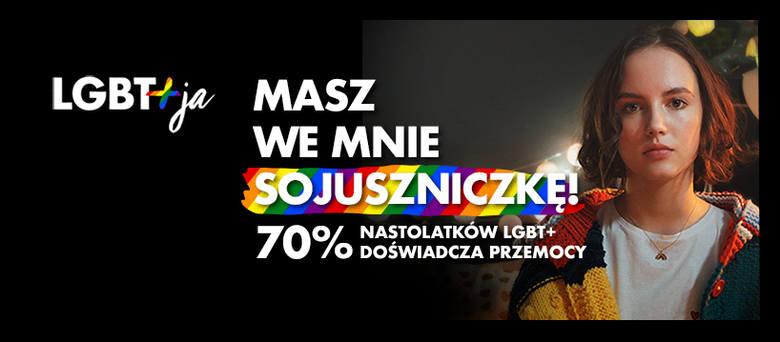 "Materiały promujące kampanię ""LGBT+ja"""