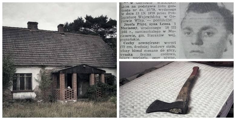 Tak wygląda dziś dom we wsi Pąchy koło Nowego Tomyśla, w którym we wrześniu 1979 r. Józef Pluta zamordował zabił siekierą Teresę S., jej męża i 13-letnią