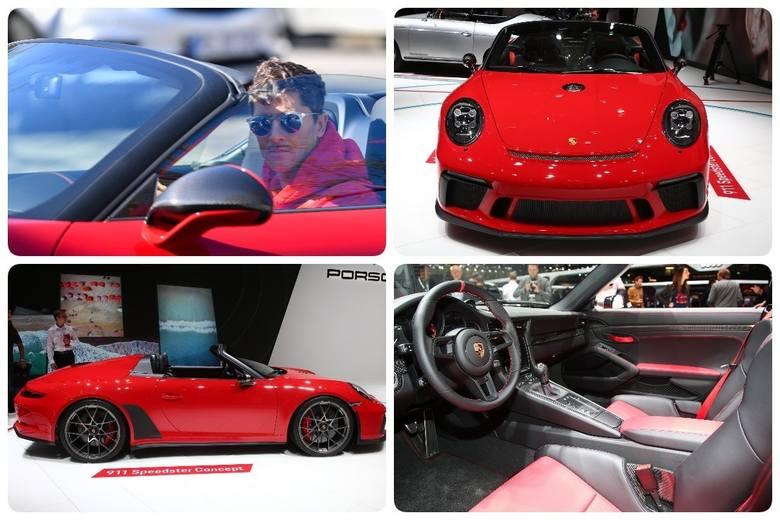 Na treningi Lewy chętnie zajeżdża swoją czerwoną strzałą. To Porsche 911 Speedster w wersji cabriolet. W przeliczeniu na złotówki takie auto warte jest