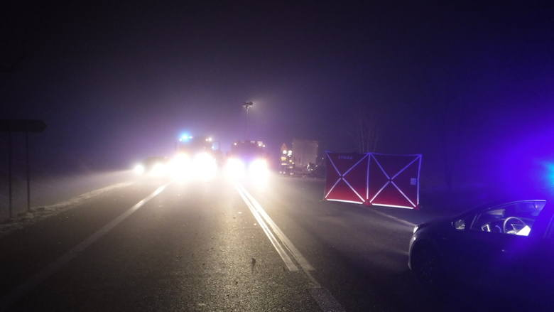 - Droga nr 91 była zablokowana. Policjanci wyznaczyli objazdy. Na miejscu pracowały wszystkie służby ratunkowe. Przyczyny tego wypadku wyjaśni postępowanie