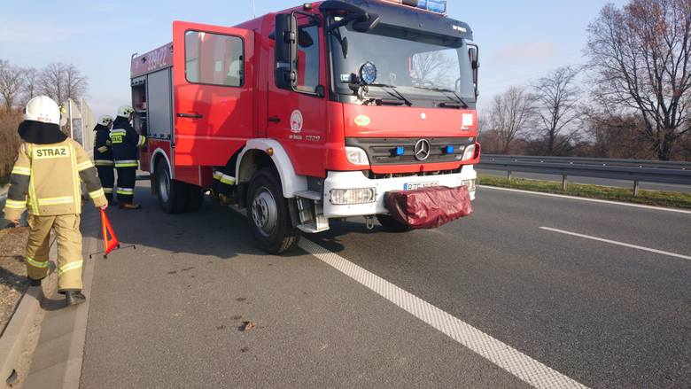 Straż pożarna z PSP Rzeszów i OSP Świlcza została zadysponowana do pożaru karetki pogotowia ratunkowego na drodze krajowej nr 97 pod Rzeszowem. W karetce