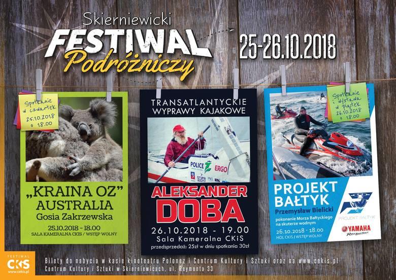 Skierniewicki Festiwal Podróżniczy w CKiS w Skierniewicach