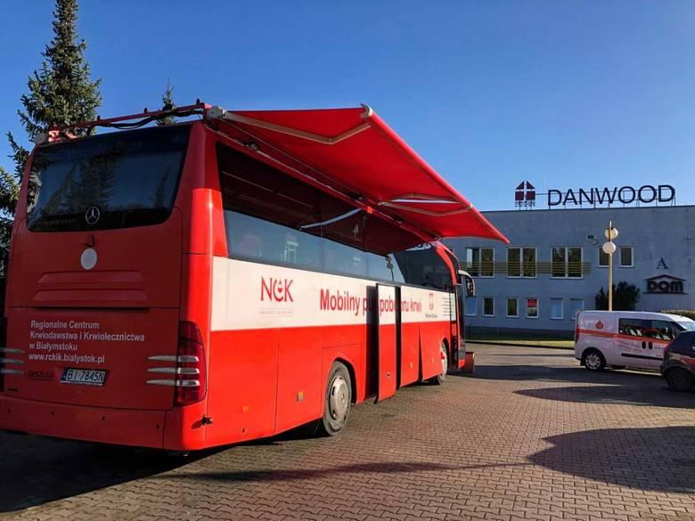 W firmie Danwood w Białymstoku i Bielsku Podlaskim polała się krew. Ale w dobrym celu