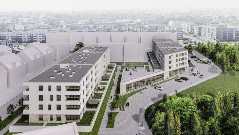 Family Square - nowe mieszkania w centrum zielonych Krzyków